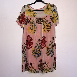 Anthropologie Maeve Shift Dress Medium Petite NWT